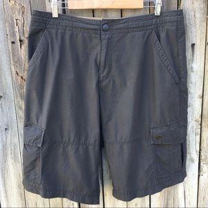 Nike Vintage Cargo Short Cotton Nylon Gray L